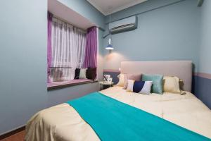 Guangzhou Haizhu·Pearl Shadow Star City· Locals Apartment 00138600, Apartmány  Kanton - big - 7
