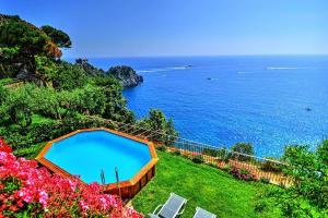 Conca dei Marini Villa Sleeps 10 Pool Air Con WiFi - AbcAlberghi.com