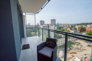 Apartment with two bedrooms on the 10th floor
