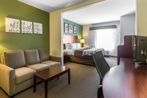 Sleep Inn & Suites Bush Intercontinental - IAH East, Hotels  Humble - big - 16