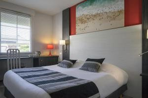 Hotel The Originals Bourg-en-Bresse Nord Le Pillebois (ex Inter-Hotel), Szállodák  Montrevel-en-Bresse - big - 11