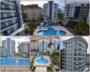 Elite Marine Residence, Apartmanok  Alanya - big - 37