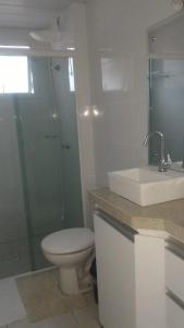 Apartamento na praia de Canasvieiras com wifi, piscinas e ar condicionado nos quartos., Apartments  Florianópolis - big - 14