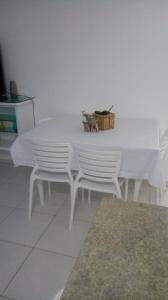 Apartamento na praia de Canasvieiras com wifi, piscinas e ar condicionado nos quartos., Apartments  Florianópolis - big - 36