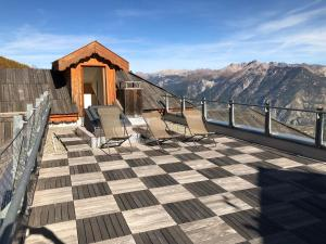 Penthouse Bond 007 120 m2 piscine sauna Risoul 1850 - Apartment - Risoul
