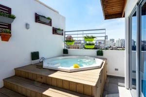 PRIVATE JACUZZI AND City Views | PH Santo Domingo
