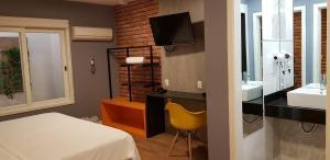 Motel Giro D'Água (Adult Only), Отели для свиданий  Кашиас-ду-Сул - big - 4