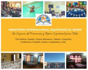 Missionary House / Centro de Retiro Los Tres Ojos de Agua