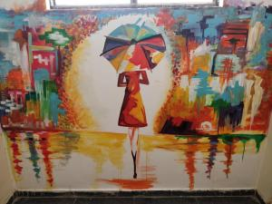 Auberges de jeunesse - Mural By Spiti