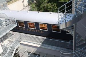 Train Cabin Hostel - Brussels