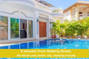 RATANA VILLA - PATTAYA HOLIDAY HOUSE WALKING STREET 7 bedrooms