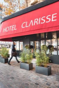 Hôtel Clarisse, Hotely  Paříž - big - 33
