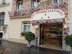 Champerret Elysees hotel,  Paris, France. The photo picture quality can be variable. We apologize if the quality is of an unacceptable level.