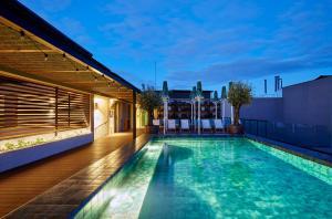 Hotel barcelona 1882 4 toiles barcelone avec piscine et bar - Barcelone hotel piscine interieure ...