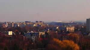 Cracovia Panorama East Apartment Vermelo