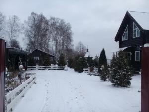 Двухэтажный, деревянный дом - Dubënki