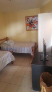 Double Room Hostal Plaza Carrera