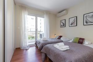 Cannes Apartment Sleeps 6 Air Con WiFi, Apartments  Cannes - big - 16