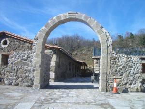 Albergue El Solitario, Ferienhöfe  Baños de Montemayor - big - 12