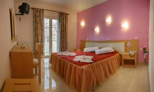 Standard Double or Twin Room Theofilos Hotel Petra