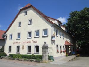 "Gasthaus zum ""Goldenen Roß"" - Creglingen"
