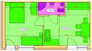 Apartament Piaskowy NR A5 (3-5 os.)