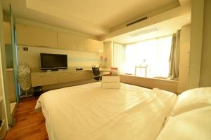 Beijing New Oriental Suites in Seasons Park Sanlitun, Residence  Pechino - big - 77