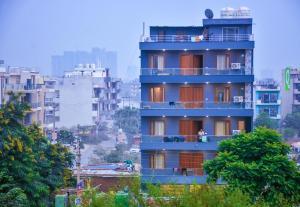 Grand Oyster Service Apartments, Апарт-отели - Гургаон