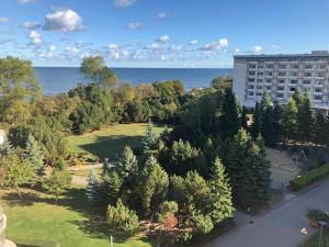 Apartament Ania z widokiem na morze w Hotelu Arka