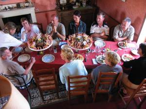 Chambres et Tables d'hôtes à l'Auberge Touristique, Bed and breakfasts  Meuvaines - big - 63