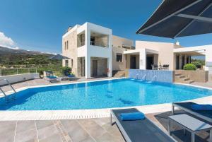 obrázek - Kastellakia Villa Sleeps 8 Air Con WiFi