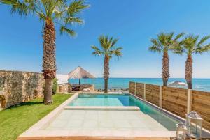 Drosia Villa Sleeps 5 Air Con WiFi - Makris Gialos