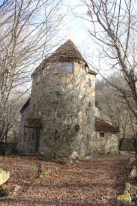Chateau in forest. Qusar, shahdag. Azerbaijan - Gaptsakh