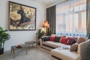 Apartmán GMApartments 4 rooms with mansard on Tverskaya Moskva Rusko