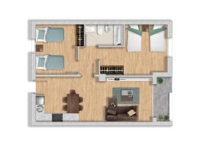 Apartaments Els Llorers, Апарт-отели  Льорет-де-Мар - big - 18