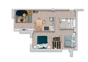 Apartaments Els Llorers, Апарт-отели  Льорет-де-Мар - big - 21