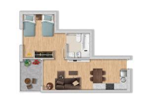 Apartaments Els Llorers, Апарт-отели  Льорет-де-Мар - big - 2