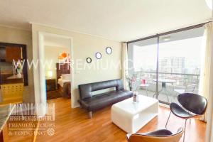Apartamentos Premium Capital Casino Viña del Mar, Apartmány  Viña del Mar - big - 33