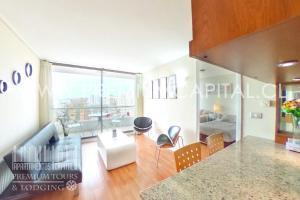 Apartamentos Premium Capital Casino Viña del Mar, Apartmány  Viña del Mar - big - 43