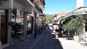 REST On The Pedestrian Street Achaia Greece