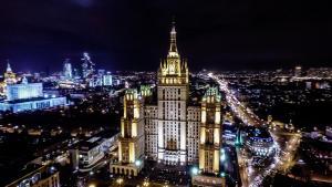 Kudrinskaya Square Apartment, Апартаменты  Москва - big - 42
