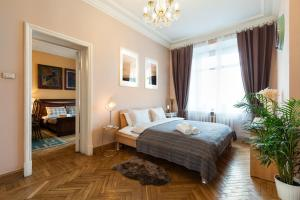 Kudrinskaya Square Apartment, Апартаменты  Москва - big - 36