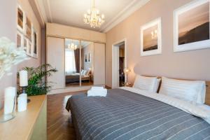 Kudrinskaya Square Apartment, Apartmány  Moskva - big - 28
