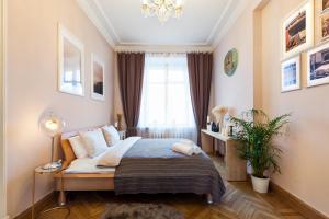 Kudrinskaya Square Apartment, Апартаменты  Москва - big - 32