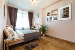 Kudrinskaya Square Apartment, Апартаменты  Москва - big - 33