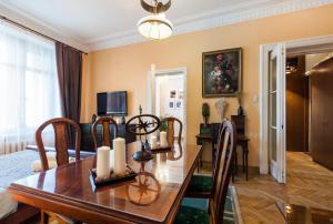 Kudrinskaya Square Apartment, Апартаменты  Москва - big - 34
