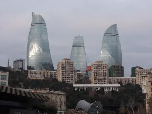 Neftiannikov Avenue Apartment, Апартаменты  Баку - big - 52