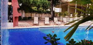 Beautiful 11 Bedroom Mansion near the Old City, Dovolenkové domy  Cartagena - big - 52