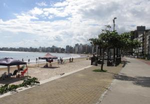Apartamento em frente à praia - Guarapari
