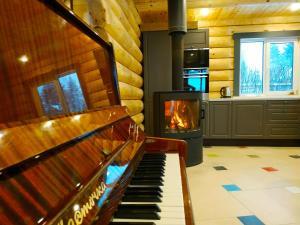 Камин & Пианино - Osinkino